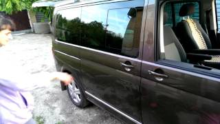 Проверка электропривода сдвижной двери VW T5(, 2015-09-30T16:43:07.000Z)