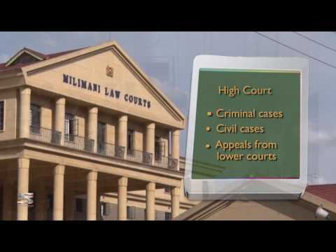 The Kenya Judiciary- Structure of the Courts
