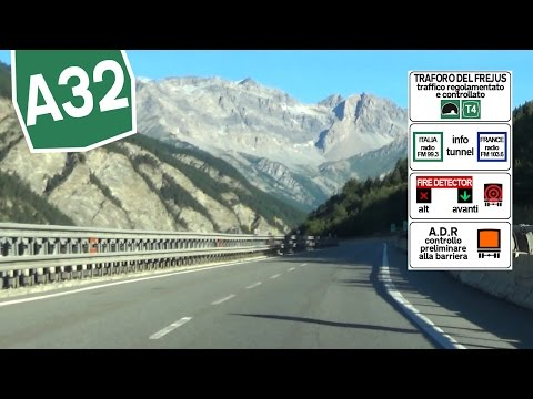 IT / A32 Driveway to the Frejus Tunnel T4 / Susa - Bardonecchia