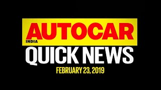 Tata Harrier 7-seater & 45x EV, Hyundai QXi, MG Hector and more | Quick News | Autocar India