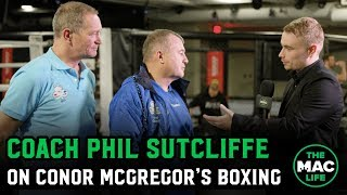 Phil Sutcliffe of Crumlin Boxing Club talks being part of Conor McGregor's UFC 246 preparations