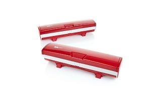 Wrap Master Set of 2 Foil and Plastic Wrap Dispensers