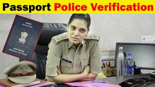 Passport Police Verification Step By Step Full Process