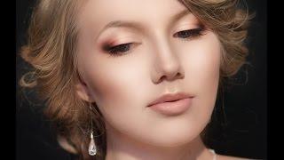 Свадебный макияж в акварельной технике(, 2014-07-21T19:32:19.000Z)