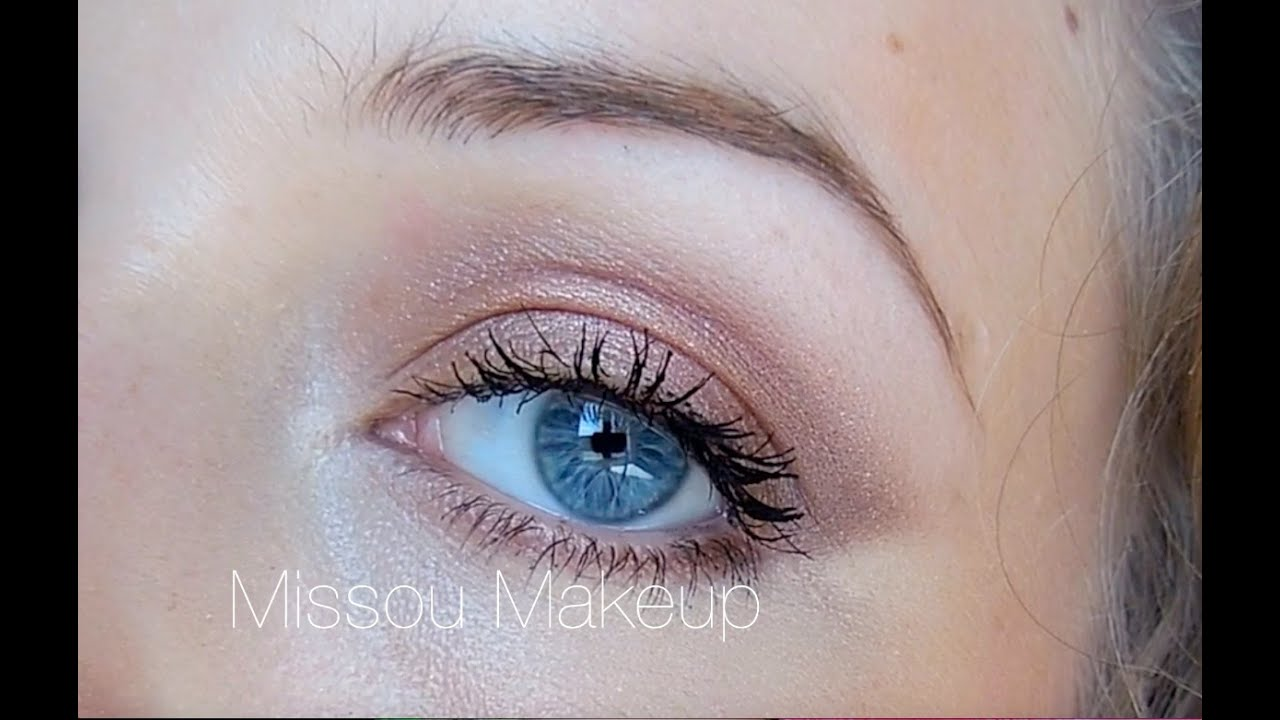 Exceptionnel TUTO Maquillage de jour Naked 3 - YouTube WK38