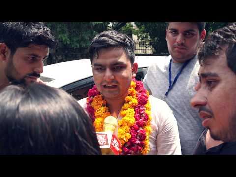 Rocky Tushir for President || DUSU 2017 || NSUI || DU Elections