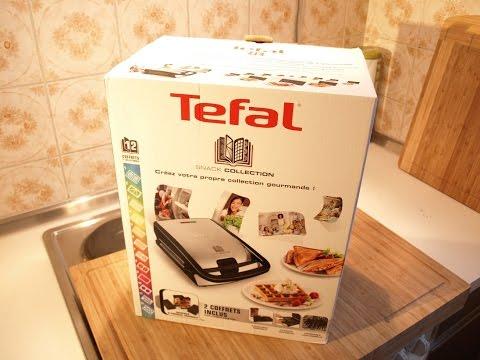 nobbi testet von tefal ein waffeleisen mit auswechselbaren platten youtube. Black Bedroom Furniture Sets. Home Design Ideas