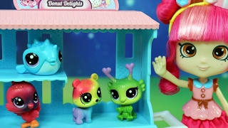 Walentynki Donatinki - Minnie i Miki - Shopkins & Disney & Littlest Pet Shop - bajka po polsku