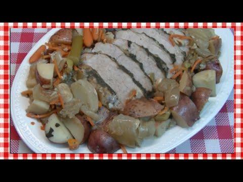 Slow Cooker Pork Roast Recipe ~ Noreen's Kitchen