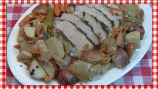 Slow Cooker Pork Roast Recipe ~ Noreen's Kitchen