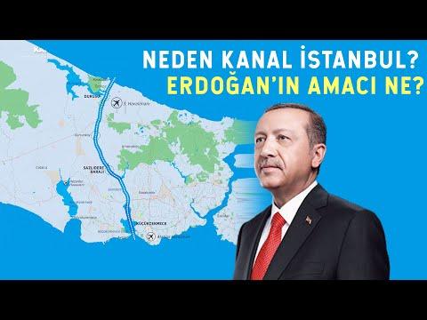 Erdoğan'ın Kanal İstanbul Planı! Rusya ve ABD'yi Çıldırtan Proje
