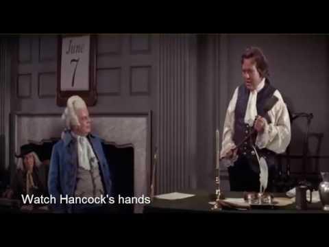 1776 the Movie, anachronism