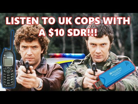 Can you listen to the UK Police Force with a $10 SDR Receiver?