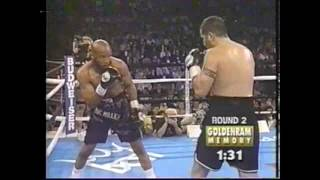 WBA世界クルーザー級TM  ネートミラーVSファブリスティオゾ