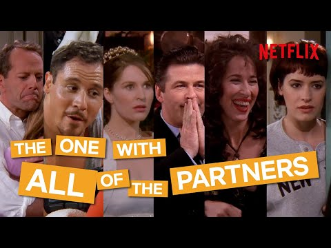 Friends | Who Had The Most Partners? Everybody They Date