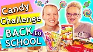 Candy Challenge BACK TO SCHOOL Special | Eva vs. Kathis | Lieblings Schul Süßigkeiten
