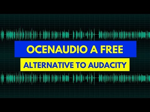 Ocenaudio a free alternative to Audacity recording
