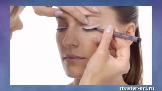 Как сделать двойные стрелки? Видео урок макияжа от Орифлейм: двойные стрелки