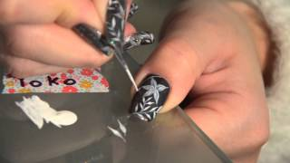 Nail art - Fleurs précieuses Thumbnail