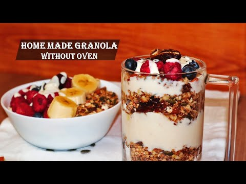 Homemade Toasted Apple Cinnamon and Oatmeal Cereal – Healthy Snack Recipe