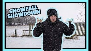 SNOWFALL SHOWDOWN!!!   WDW #16   WWE Mattel Wrestling Figure Fun!!!