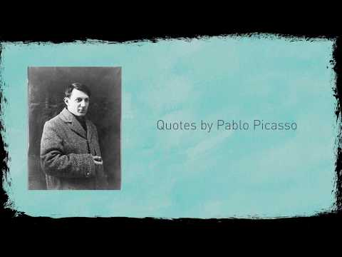 Inspirational Quotes by Pablo Picasso | Creative Inspirations | Sayings by Painters