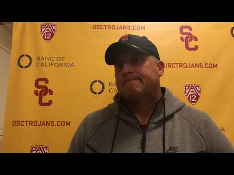 USC Football - Pac-12 Championship Wednesday: Clay Helton