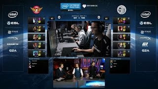 SKT vs TSM Highlights Game 1 - SK TELECOM T1 vs TEAM SOLOMID - IEM KATOWICE 2016 Semifinal #1