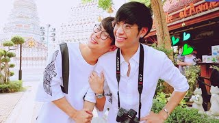 【OhmSingto】Magic of Love ❤ He's Coming To Me Sweet Moments of Tidbits at Wat Arun Temple
