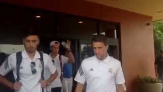 Real Madrid head to the Michigan Stadium for Man Utd Clash