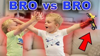 I AM THE OLDEST BROTHER! Sibling Rivalry Gets Intense!