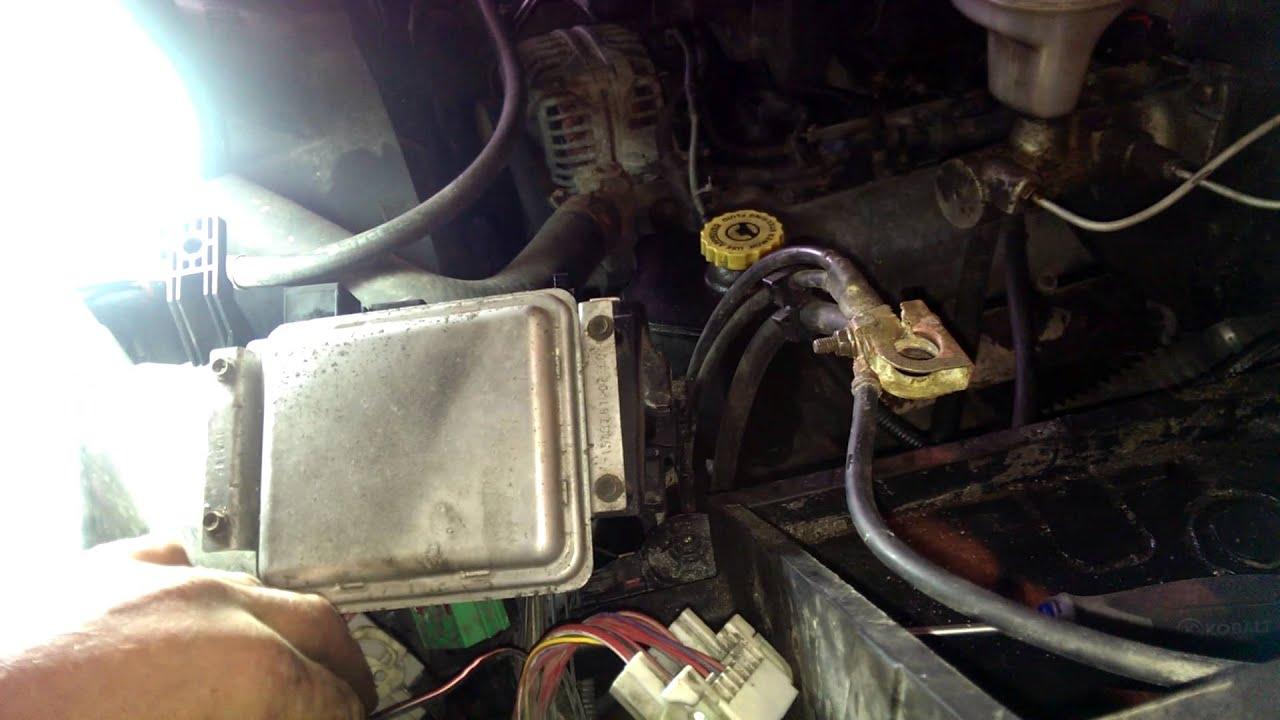 2000 Chevy Silverado 1500 Trailer Wiring Diagram Dodge Ram Abs Airbag Brake Light Speedometer Fix Youtube