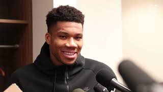 It was nice to have Greek fans out there supporting the Bucks. - Giannis Press Conference | 1.8.20
