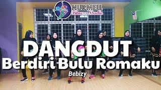 Cover images Zumba Dangdut Berdiri Bulu Romaku by Bebizy with Zin Nurul