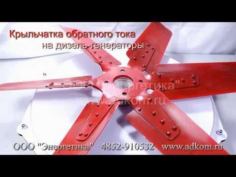 Крыльчатка вентилятора охлаждения - видео