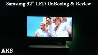 Samsung LED Tv 32FH4003 UnBoxing & Review by AKS