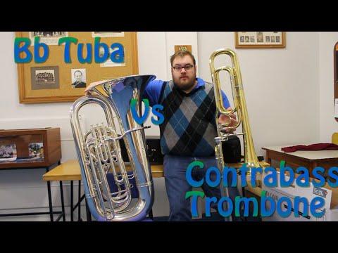 Tuba Vs Contrabass Trombone - Gabriel's Oboe