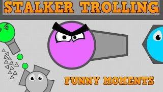 DIEP.IO STALKER TROLLING AND FUNNY MOMENTS!! // Ranger VS Fallen Overlord // Sniping Gameplay!!