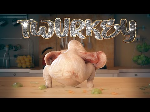 The World's First Twurkey! Full Version! (Original) (skip to 12s)