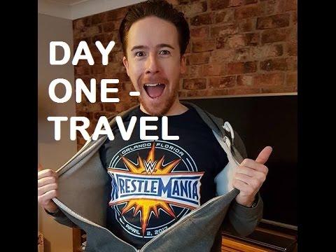 The Wrestlemania 33 VLOG | DAY 1 | Travel Virgin Atlantic Gatwick to Orlando