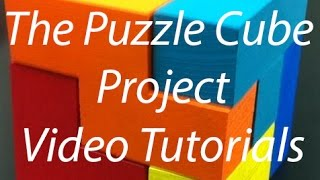 Beginner Tutorial 1 - Autodesk Inventor 2015 - The Puzzle Cube Project