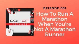 How To Run A Marathon Even If Your Not A Marathon Runner
