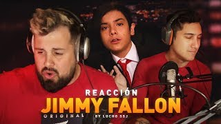 PAPO y NEGRIIN REACCIONAN a Lucho SSJ - Jimmy Fallon ( prod ...
