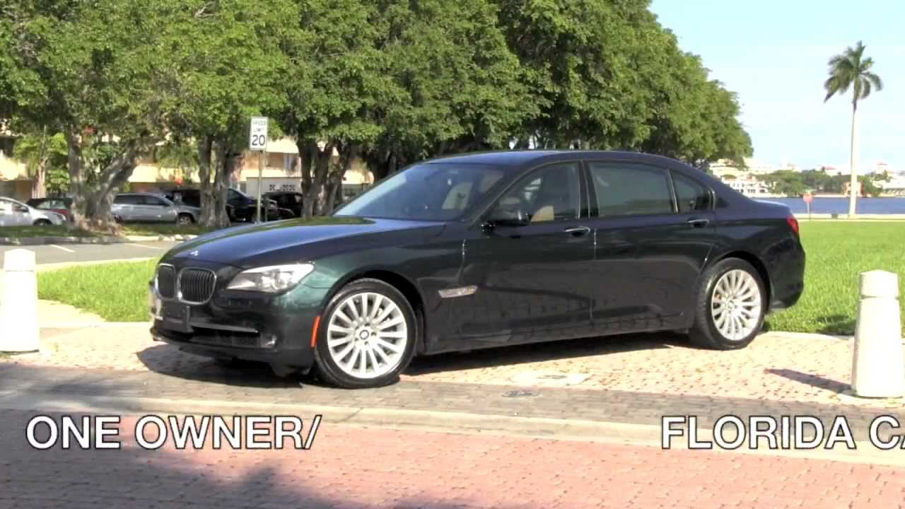 Coupe Series 2010 bmw 750 for sale 2010 BMW 750Li xDrive Deep Green Metallic Autos of Palm Beach ...