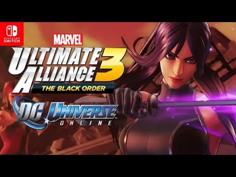 Marvel Ultimate Alliance 3 X-Men Trailer Confirms NEW Characters + Teases & DC Universe Online NSW!!