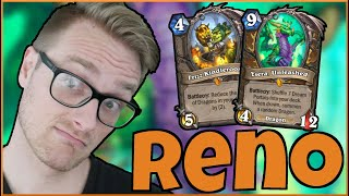 NEW Dragons are SO BUSTED  Reno Malygos Druid  Descent of Dragons  Wild Hearthstone
