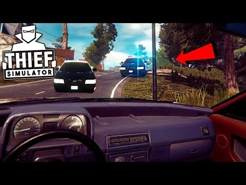 Police Chase in Thief Simulator