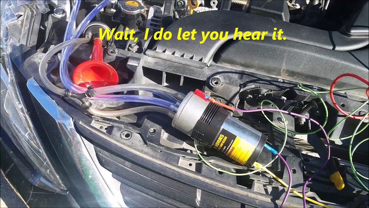 harbor freight air horns info and installation
