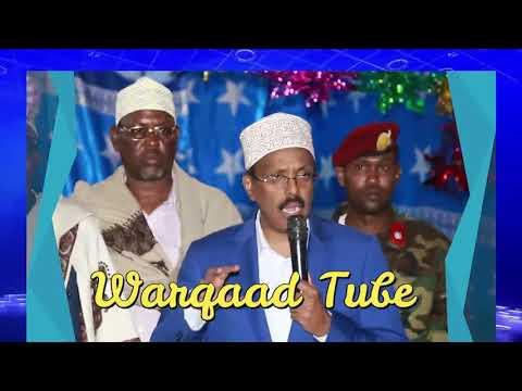 Villa Somalia oo Filim Cajiib ah ka sameysay Socdaalkii NABADA ee MD Farmaajo