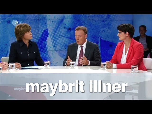 maybrit illner vom 13.09.2018: Innere Unsicherheit - Schützt unser Staat die Demokratie?